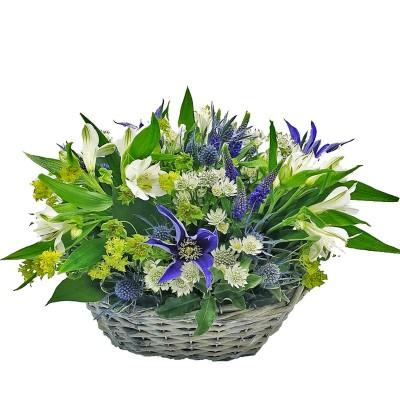 Cesta de flores Marsella