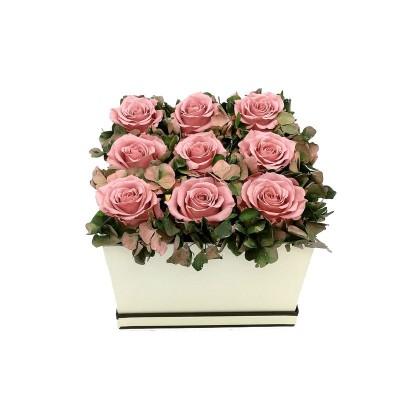 Caja de Rosas preservadas...