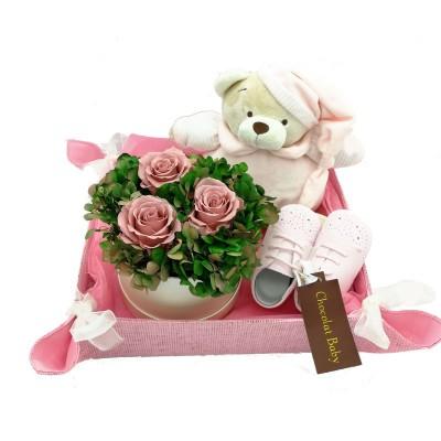 Canastilla caja Rosas...